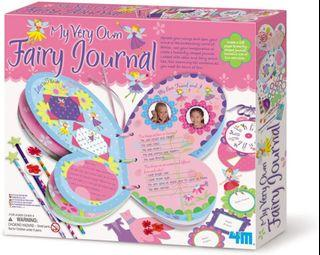NEW - 4M My Very Own Fairy Journal