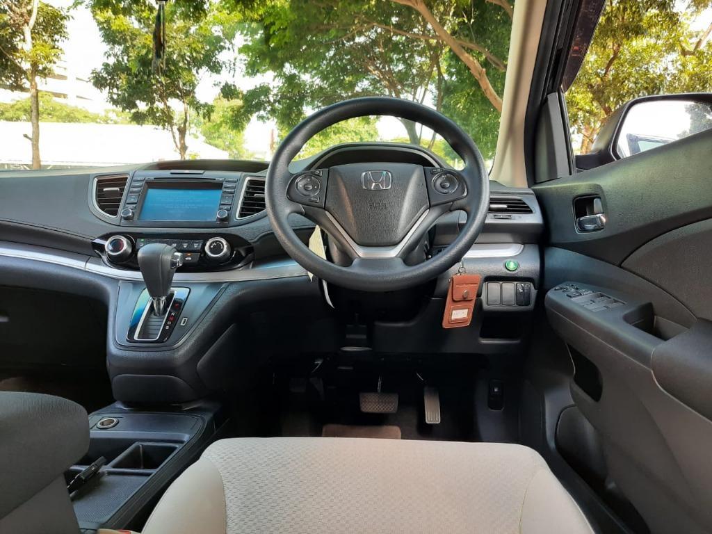 New Honda CRV 2.0 AT 2017 Hitam, Dp 52,9 Jt, No Polisi Genap