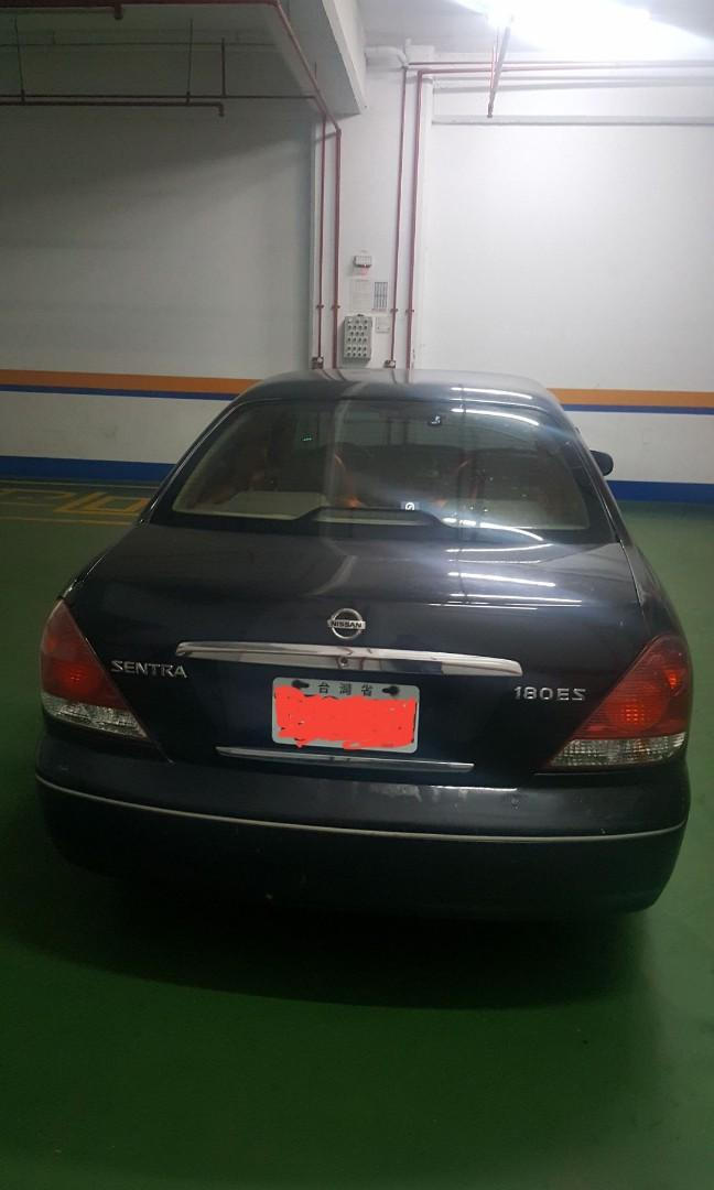 Nissan Sentra 180ES 2005, Taipei