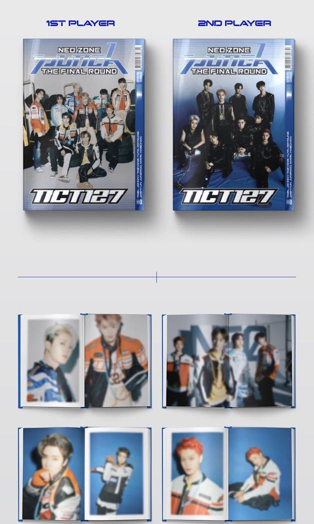 ❌NON PROFIT MY GO NCT127 2ND ALBUM - NEO ZONE REPACKAGE : THE FINAL ROUND