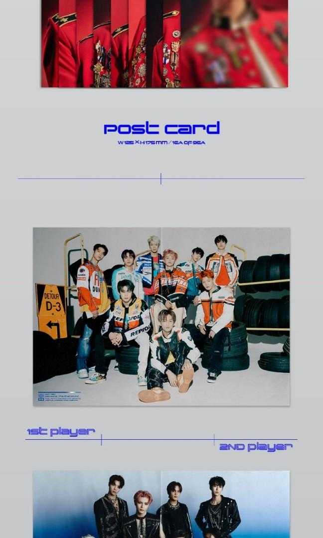[NON-PROFIT GO]  NCT 127 2ND REGULAR REPACKAGE ALBUM NCT #127 NEO ZONE : THE FINAL ROUND