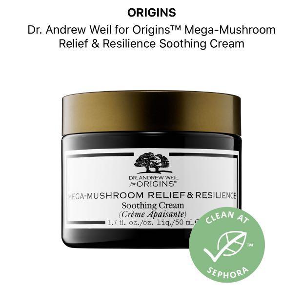 Origins Mega Mushroom Relief & Resilience Soothing Cream