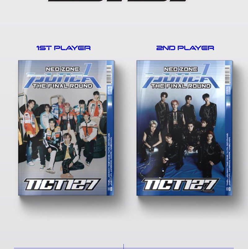 """[PREORDER] NCT 127 REPACKAGE ALBUM VOL. 2 """"NCT #127 NEO ZONE: THE FINAL ROUND"""""""