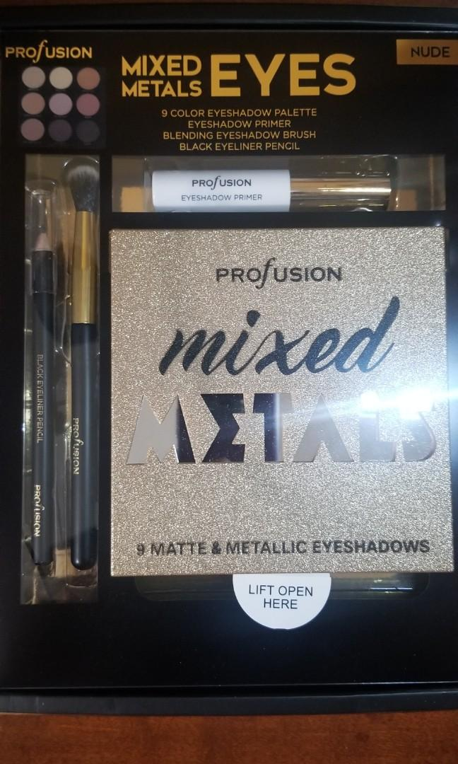 Profusion Mixed Metals for Eyes