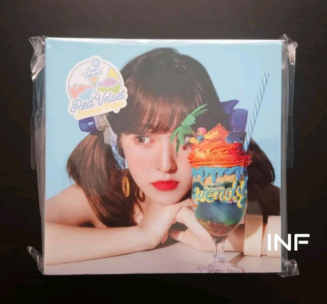 RED VELVET OFFICIAL SUMMER MAGIC WENDY VER LIMITED EDITION ALBUM(unseal&without pc)
