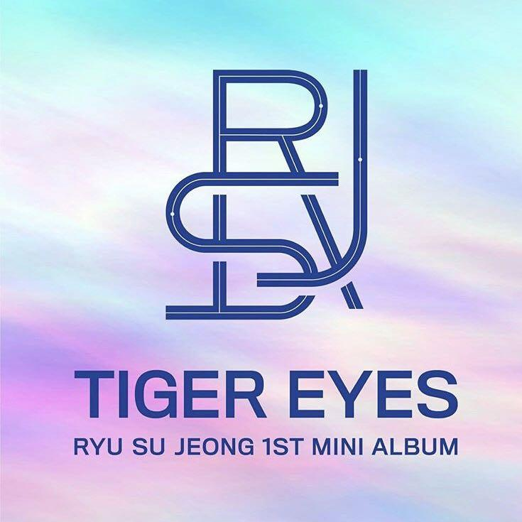 RYU SU JEONG 1ST MINI ALBUM TIGER EYES (no additional payment)
