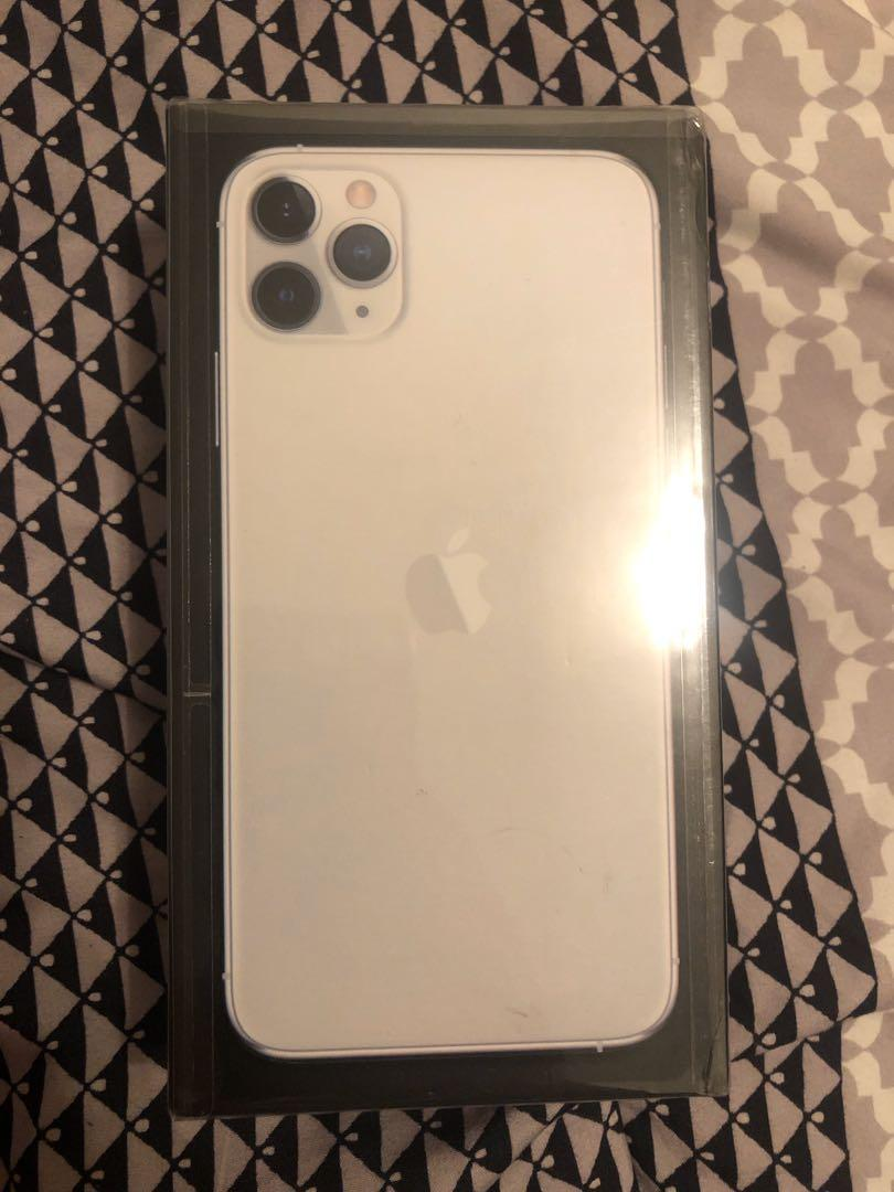 Silver iPhone 11 Pro Max 256gb sealed