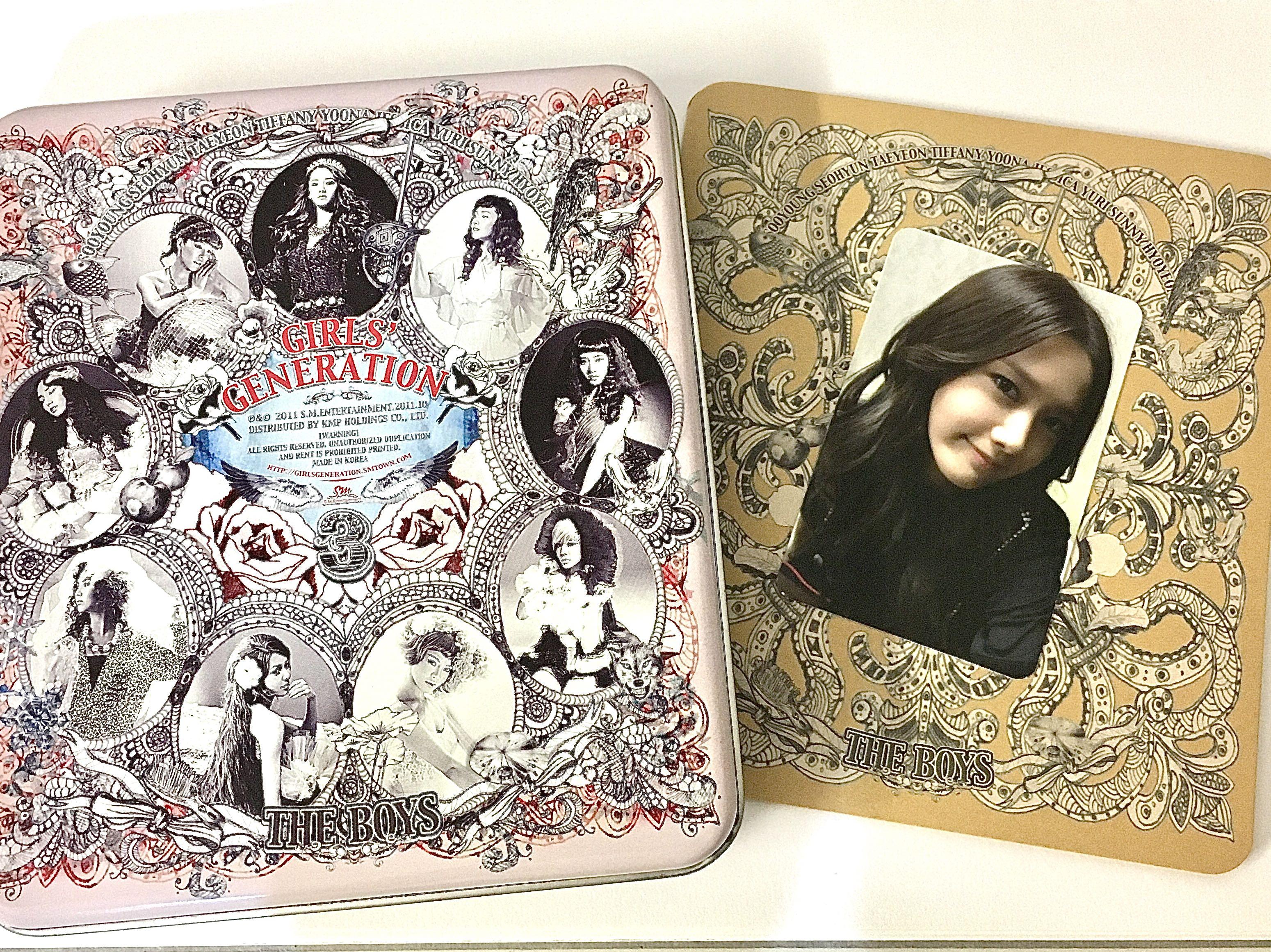 SNSD/Girls' Generation 'The Boys' Album + YOONA photocard