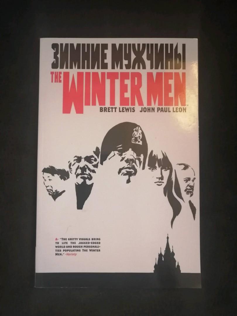 The Wintermen - graphic novel