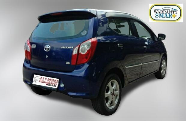 Toyota Agya G Manual 2014 Biru Dp 19,9 Jt No Pol Ganjil