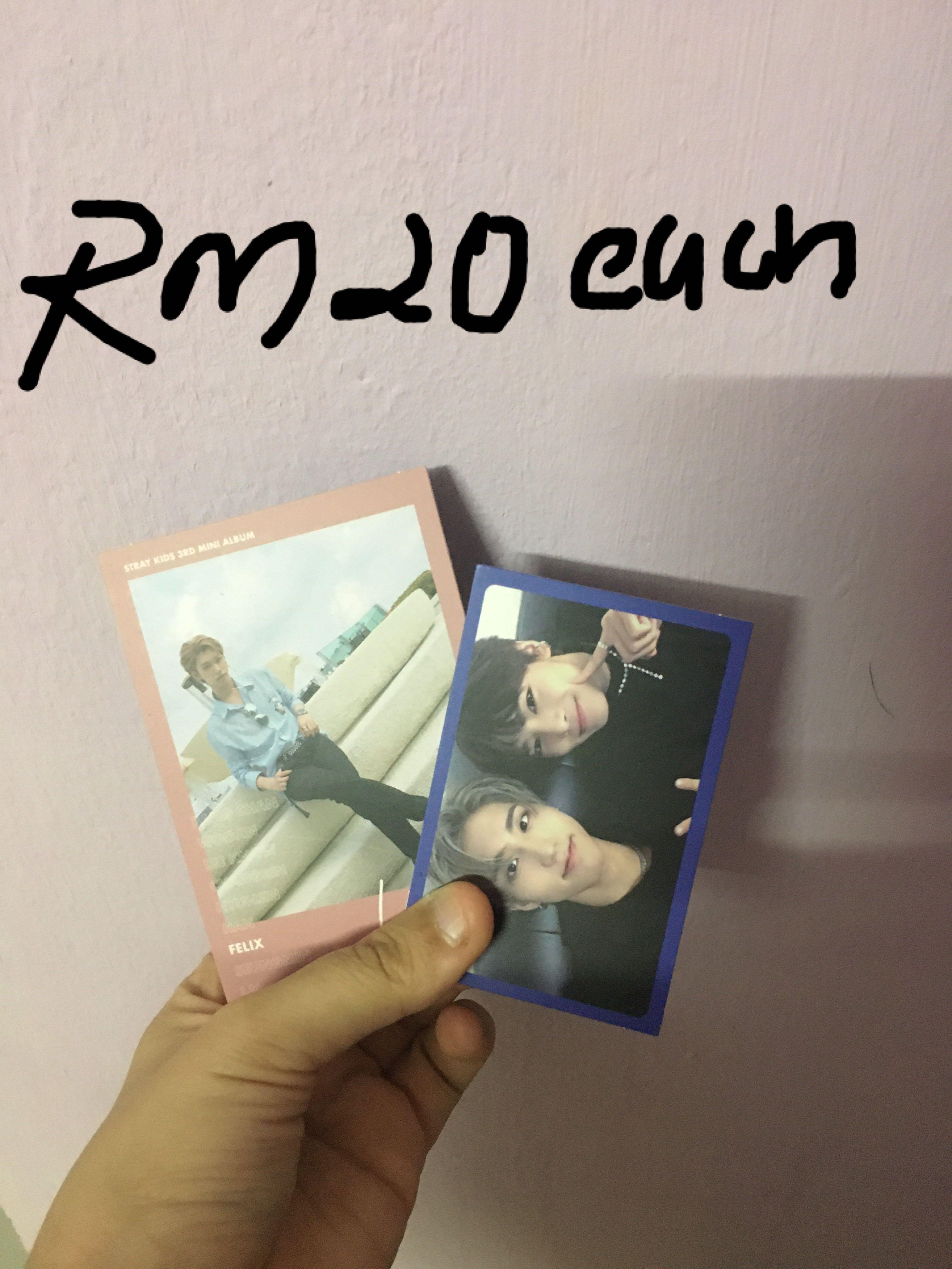 UPDATED LISTINGS! kpop album and photocard for sale!
