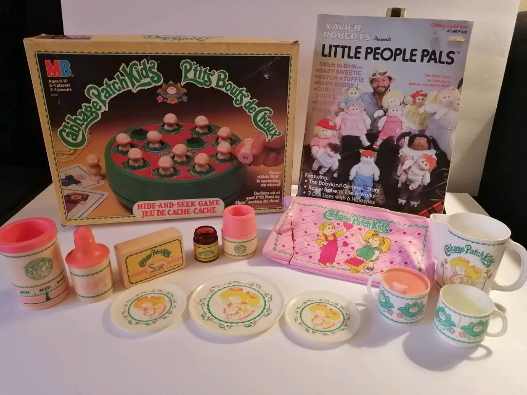 Vintage Cabbage Patch Kids items