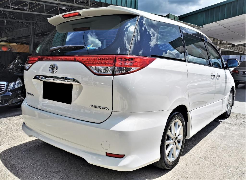 2010 Reg 2014 Toyota Estima 2.4 Aeras MPV [2 POWER DOOR][SUNROOF][1 LADY OWNER][LIKE NEW][LOW MILEAGE]