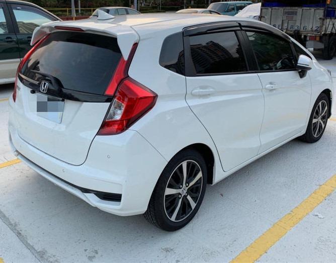 2016 本田 FIT 白  最保值的小車