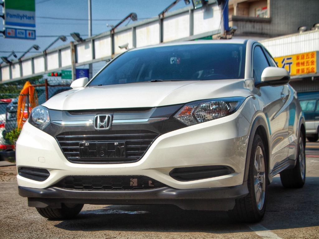 2017 Honda HRV 1.8 白