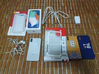 🍎蘋果 Apple iPhone X 銀色 64G 二手機 附太樂芬犀牛盾
