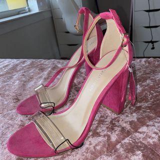 BNWT Pink Heels