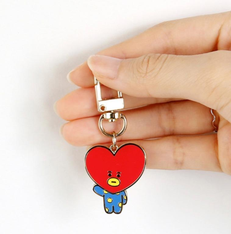 BTS BT21 Official Authentic Product Simple Keyring