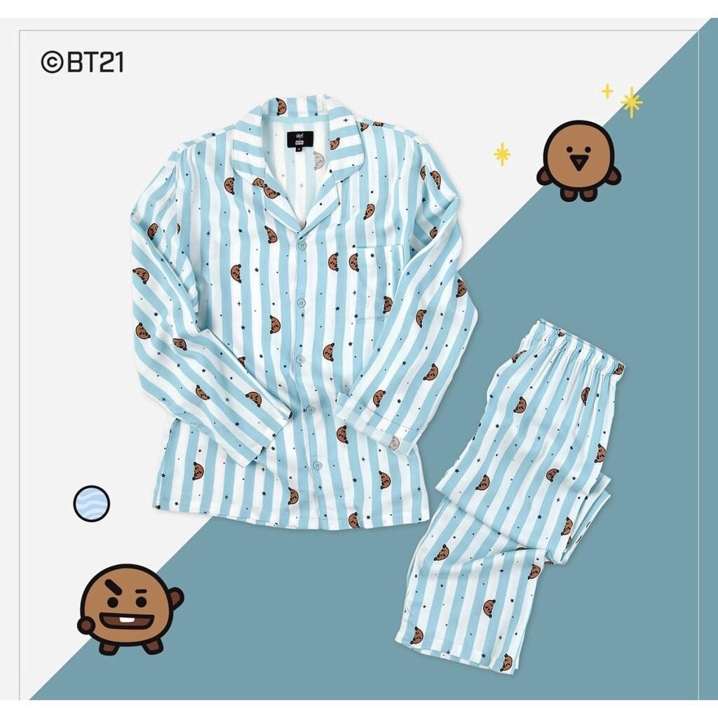 🌼OFFICIAL BT21 X HUNT Pajama set