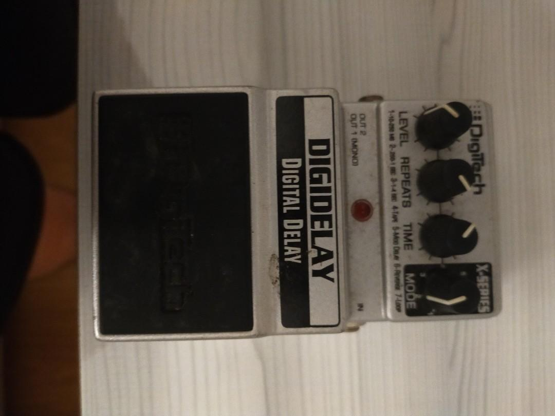 NEW Digitech DigiDelay Digital Delay Effects Pedal X Series Free USA Shipping