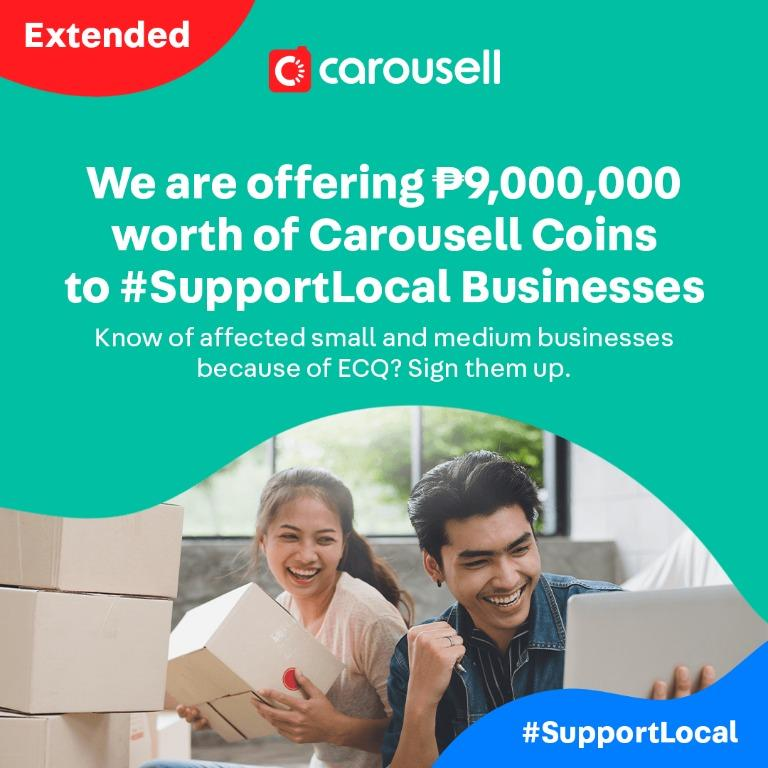 EXTENDED TILL MAY 31: #SupportLocal Businesses Package