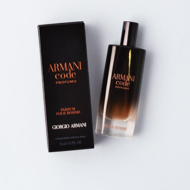 armani code 15ml