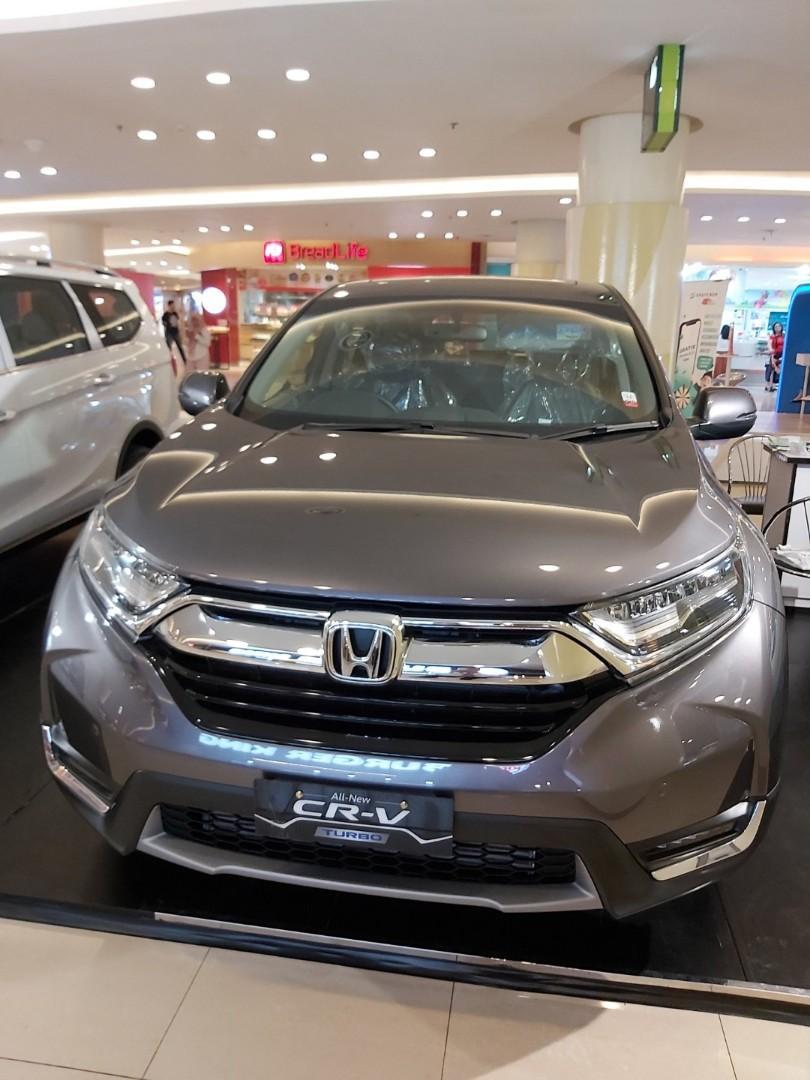 honda crv 1.5 turbo prestige free jasa service 4 tahun hingga 50 rb km