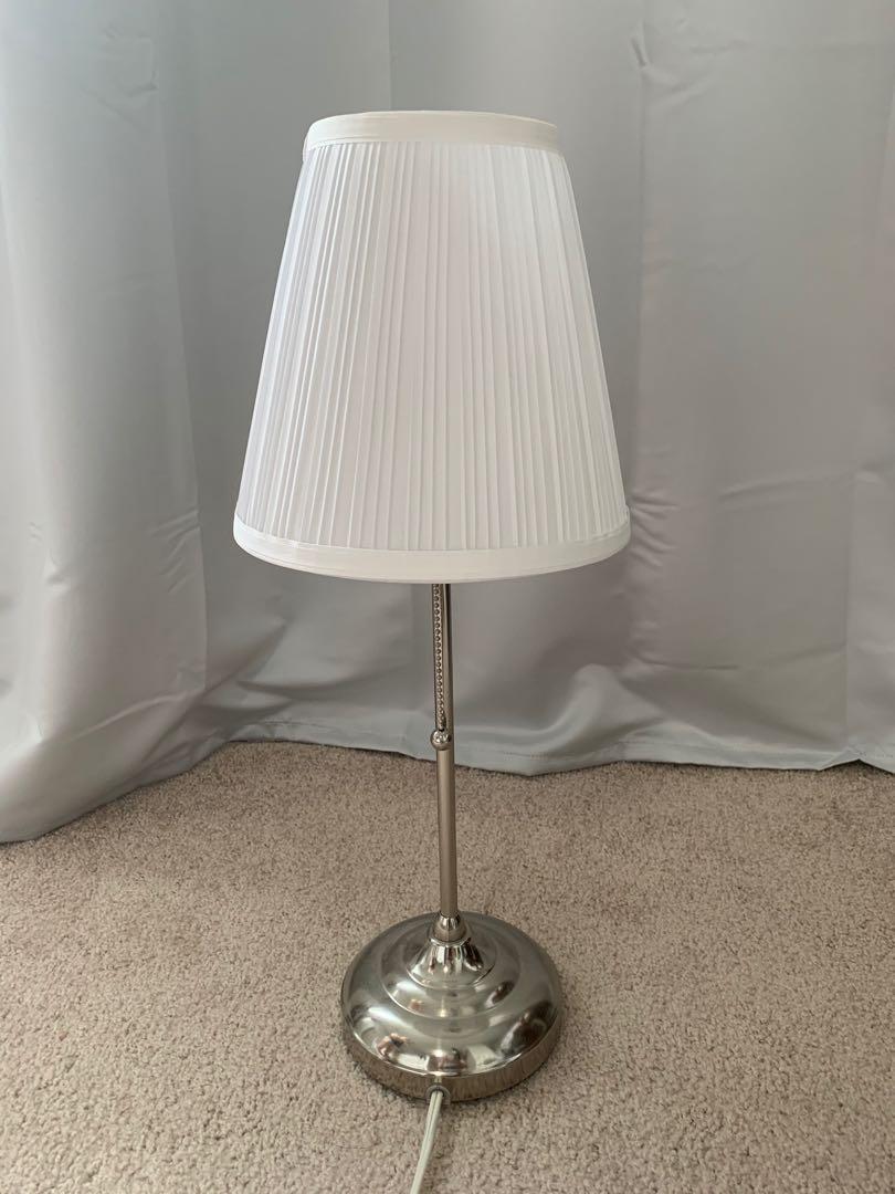 IKEA white night lamp