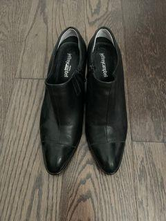 Jeffrey Campbell low cut boots