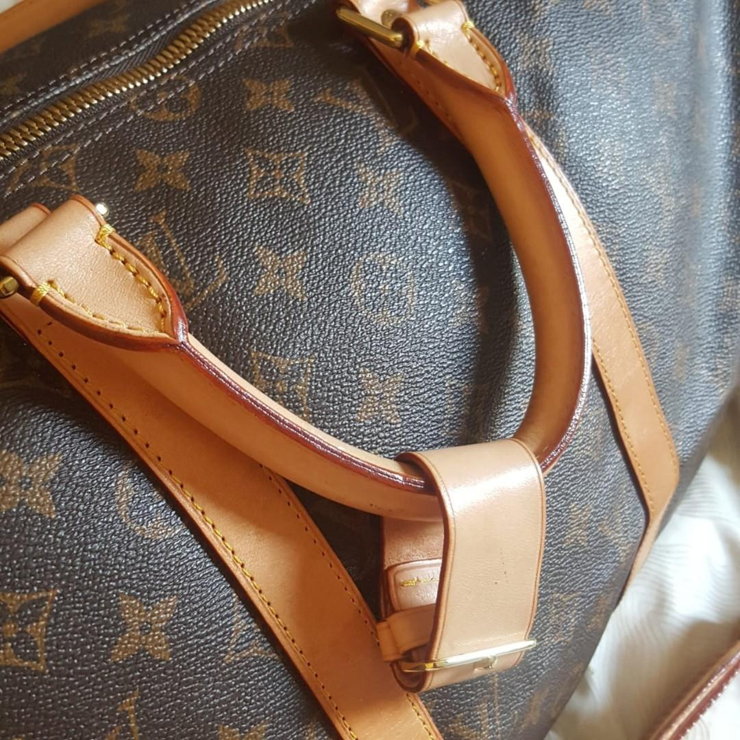LV Keepall Size 45 Monogram Mirror High Quality (preloved CLEAN/no defect) #thr2020