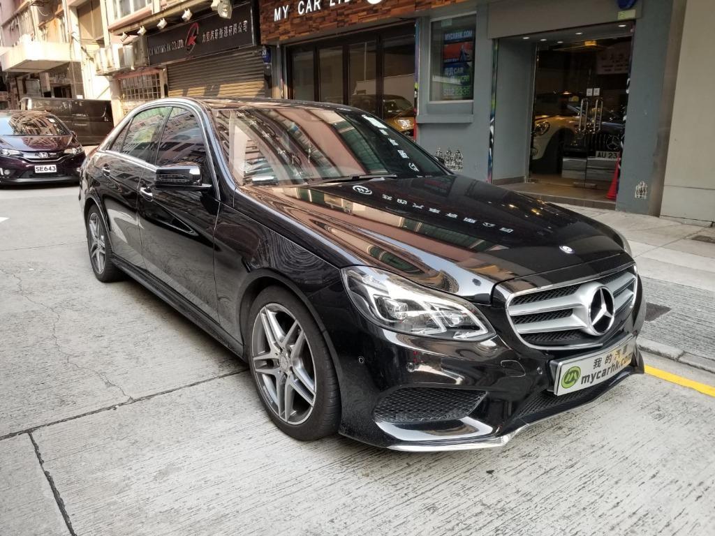 Mercedes-Benz E200 AMG Line (A)