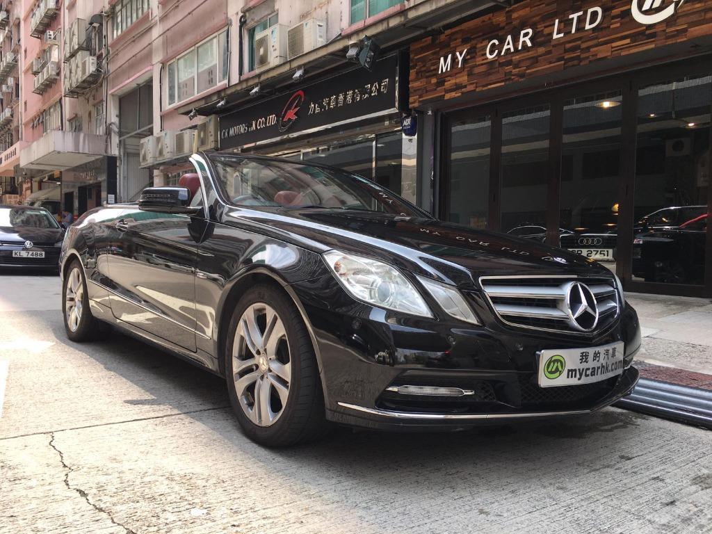 Mercedes-Benz E250 CAB 2012 Auto