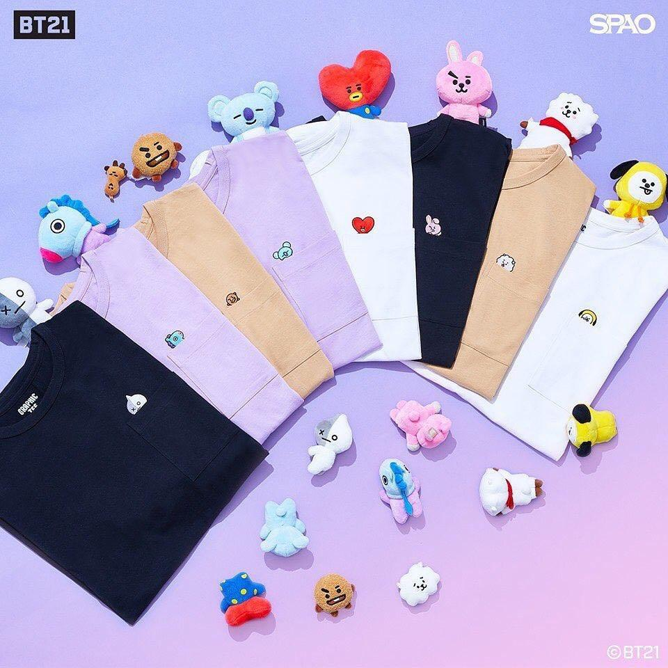 [PERSONAL SHOPPER] BT21 X SPAO OFFICIAL COLLECTION BTS