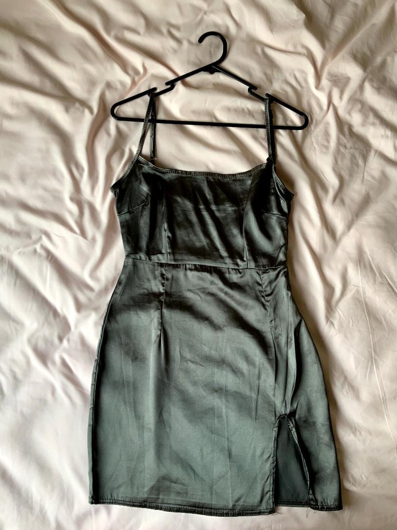 PLT satin dress