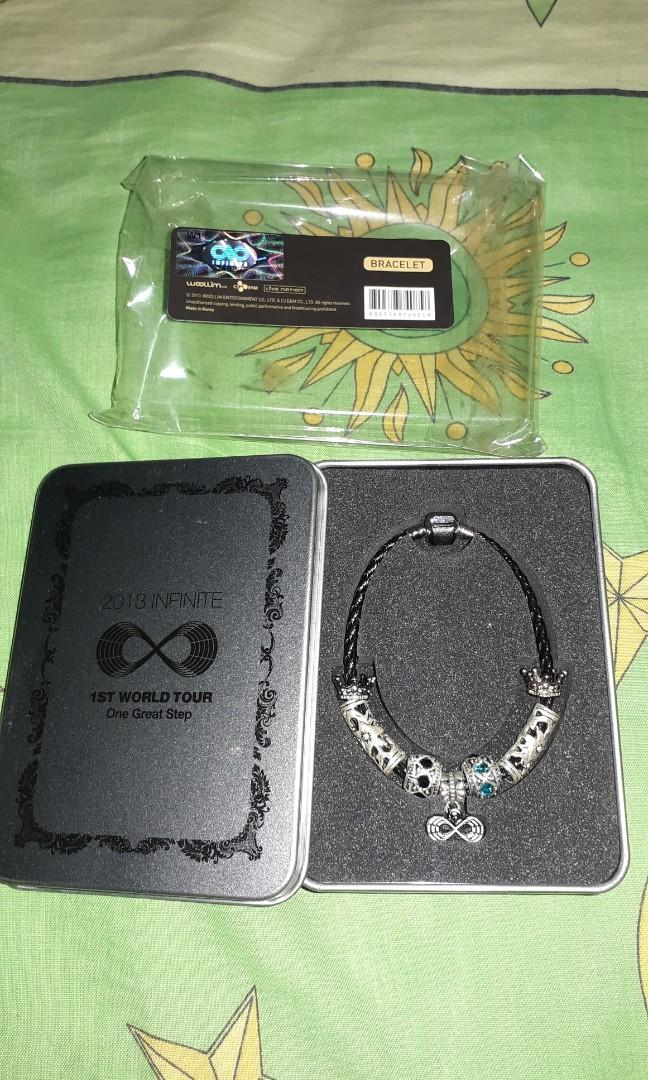 [RARE] BRACELET OFFICIAL MERCHANDISE INFINITE ONE GREAT STEP IN SEOUL