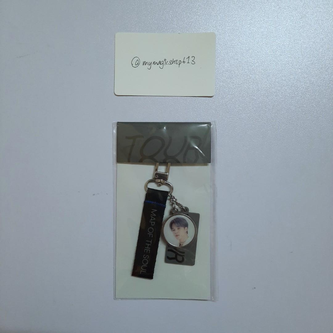 <RS> KEYRING - BTS MAP OF THE SOUL TOUR OFFICIAL MD