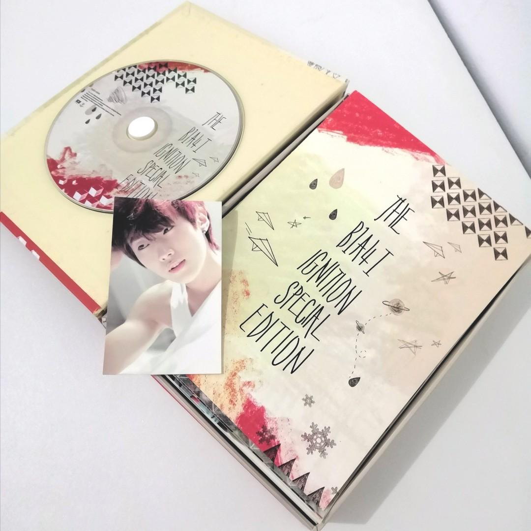The B1A4 Ignition Special Edition photo card Jinyoung