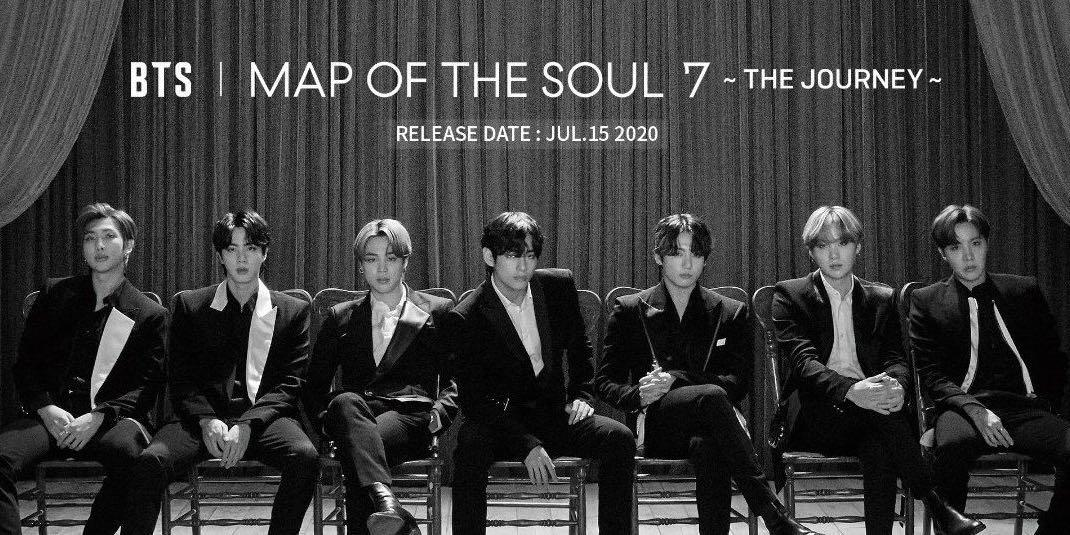 [UMS] BTS Map Of The Soul 7 The Journey Japanese Release