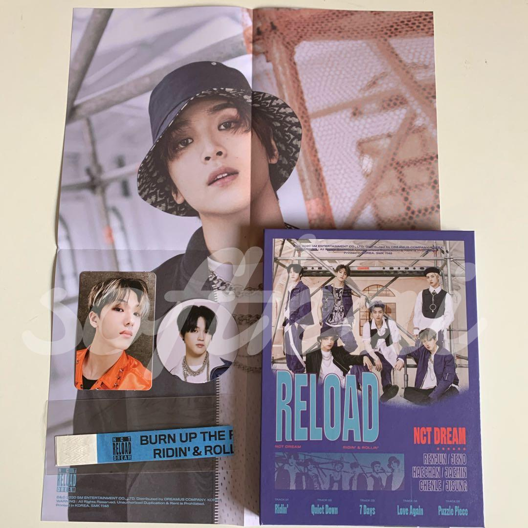 [UNSEALED]  NCT DREAM RELOADING ALBUM (ROLLIN VER)