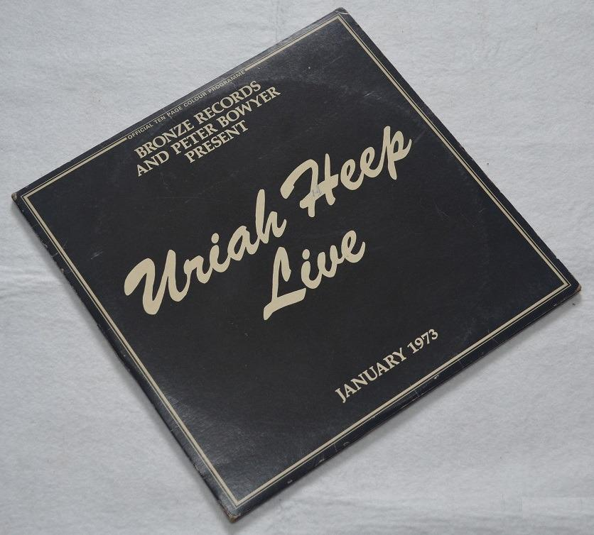 Uriah Heep Live January 1973 Vinyl Lp Records Double Album Music Media Cds Dvds Other Media On Carousell