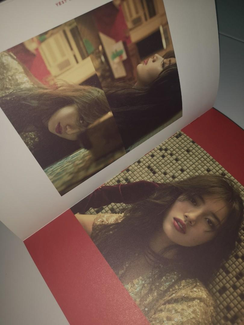 """【WTS】SUZY 1ST MINI ALBUM """"YES? NO? MAYBE"""" WITH PHOTOCARD"""