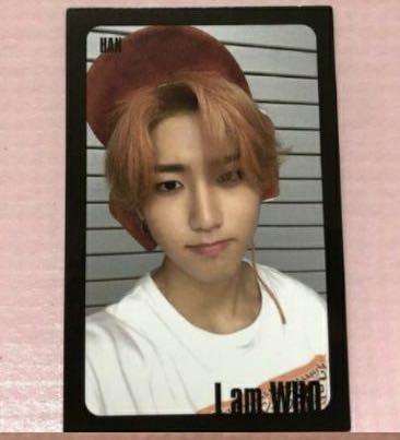 [WTT] Hyunjin I Am Who black border pc to Han Jisung
