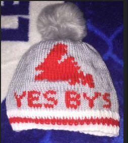 Yes by's knitted hat