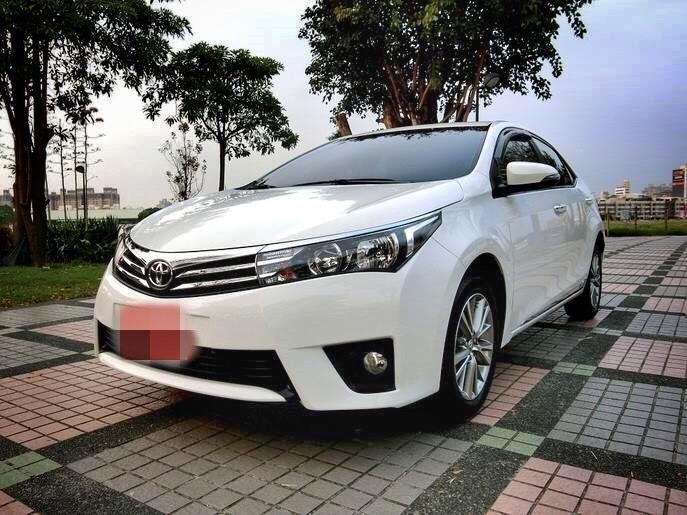 2014 Toyota Altis 1.8 超級白