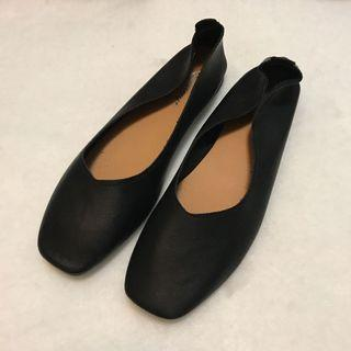 免運出清 黑色平底鞋40號(24-25公分皆可)