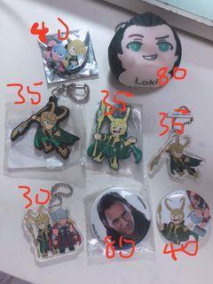 迪士尼襟章 Loki 日本 洛基 漫威 Marvel