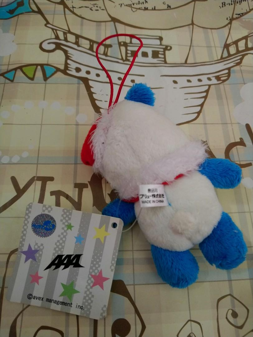 JAPAN POP GROUP-AAA(AVEX TRAX)-plush toy(100% official original)