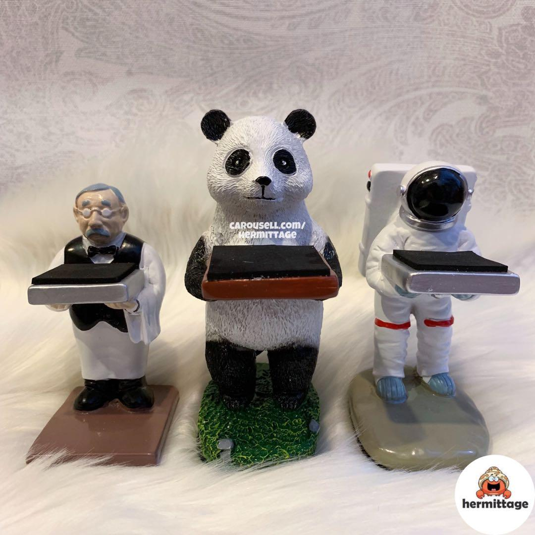 BRAND NEW WATCH STAND/ WATCH DISPLAY (BUTLER, PANDA, ASTRONAUT) (suitable for rolex, ap, hublot, omega, iwc, seiko, tudor, panerai etc)