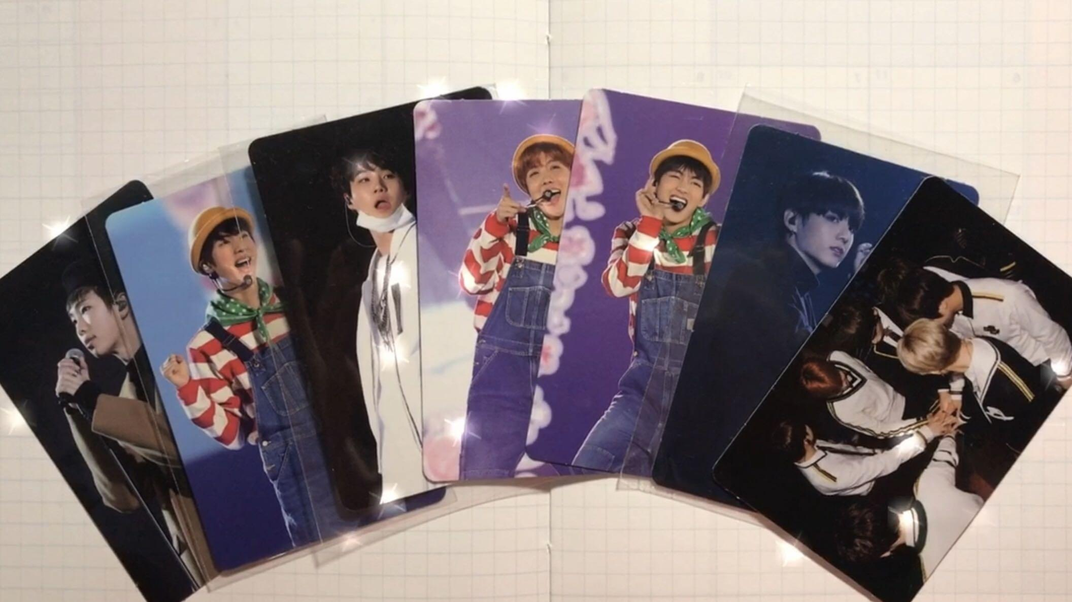 Bts 3rd Muster Dvd Photocard Photo Cards
