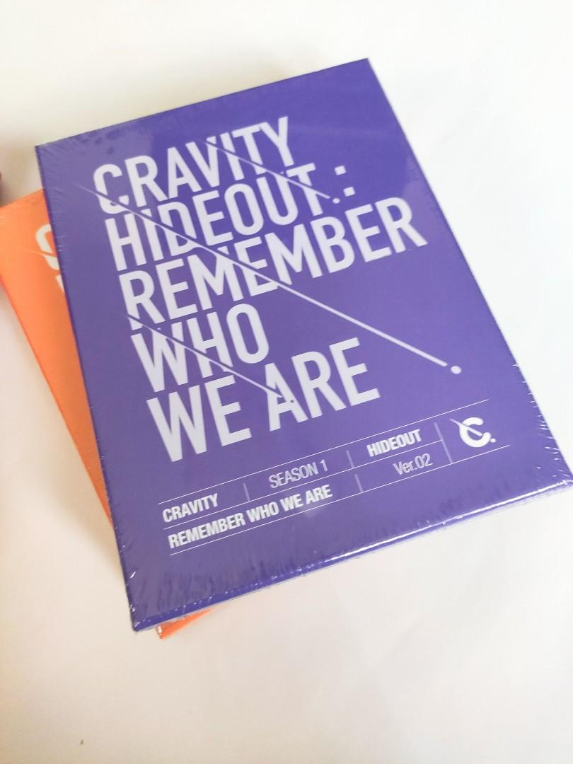 CRAVITY - Album SEASON1. [HIDEOUT: REMEMBER WHO WE ARE] (READYSTOCK-SEALED)